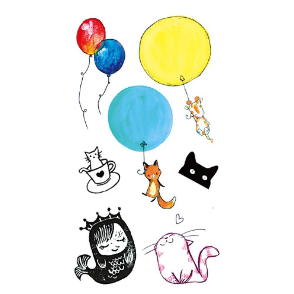 XXPF Ver Chiedene Kids Etiqueta De Dibujos Animados De Colores ...