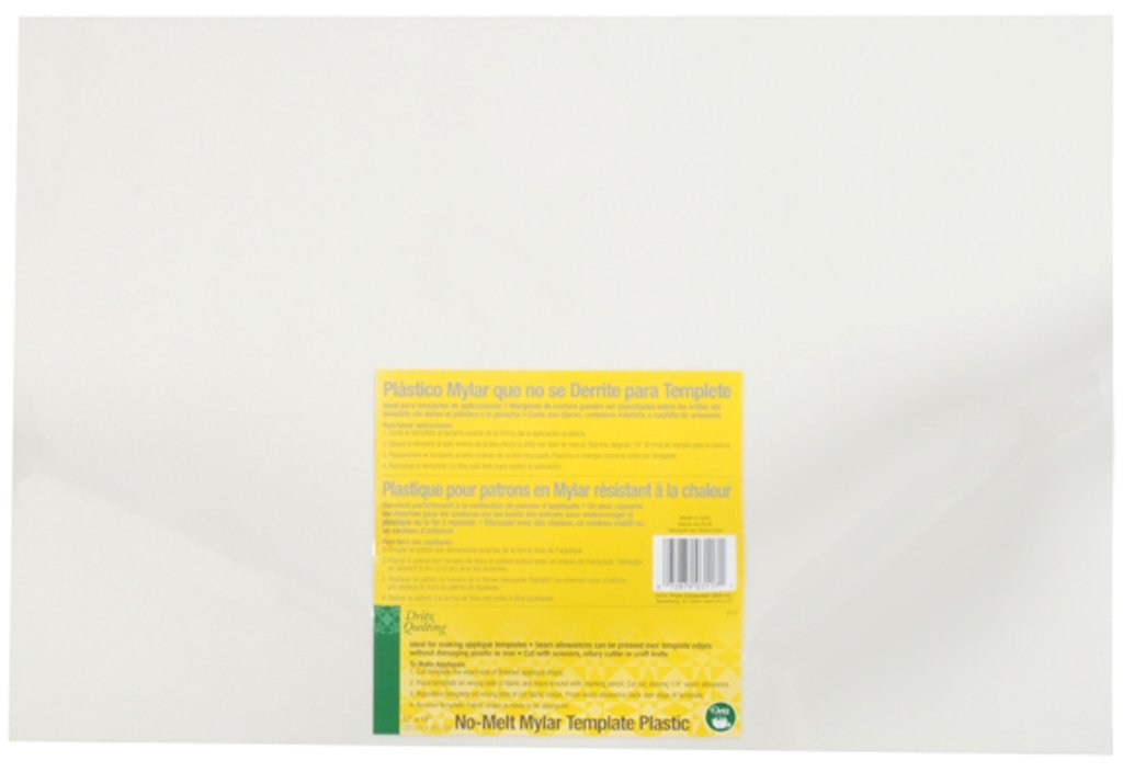 amazon com dritz quilting no melt mylar template plastic