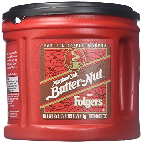 Maryland Club Butter Nut Coffee, 25.1 Ounces, 6 Count