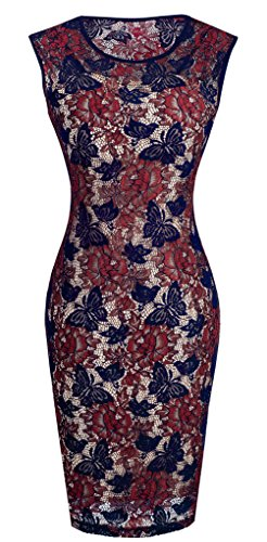 Buy below the knee length cocktail dresses - 8