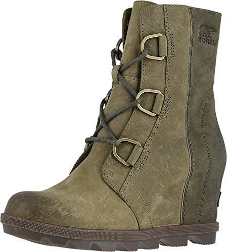 Sorel - Women's Joan of Arctic Wedge II Ankle Boot, Alpine Tundra, 7.5 M US