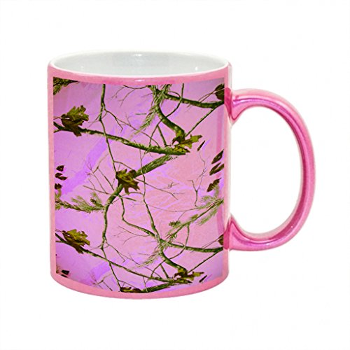 Sparkle Camo (Camo Pink Tree Metallic Pink Sparkle Coffee Mug)