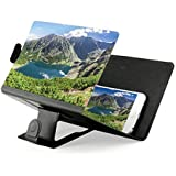 OCT17 Phone Screen Magnifier Cellphone Projector Enlarged Amplifier Mobile Bracket Holder 3D HD Movie Video Stand Compatible