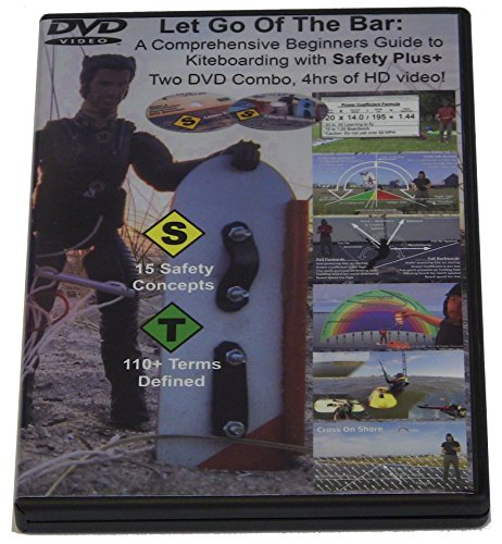 Kiteboarding Instructional DVD ''Let Go of the Bar'', Three DVD Set by UAAC