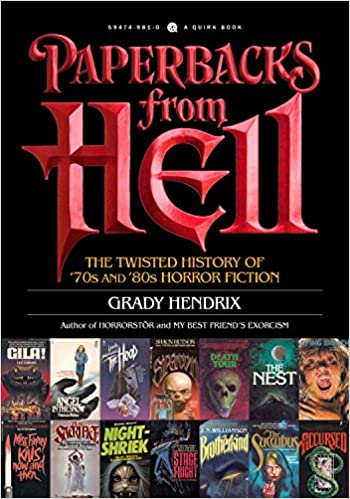 Amazon com: Paperbacks from Hell: The Twisted History of