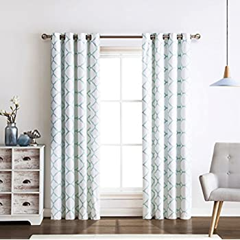 Amazon Com Tommy Hilfiger Diamond Lake Pair Of Curtains 2