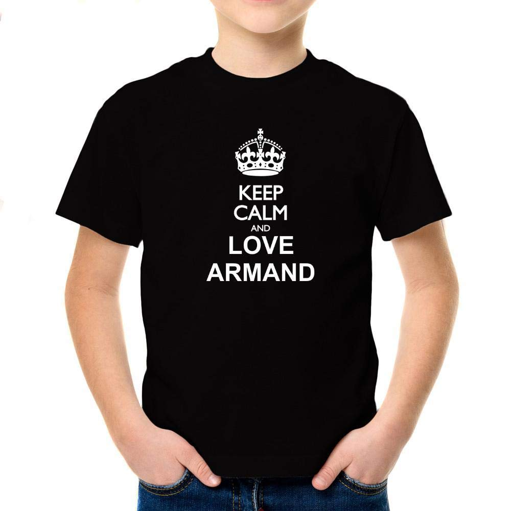 Idakoos Keep Calm and Love Armand Boy T-Shirt