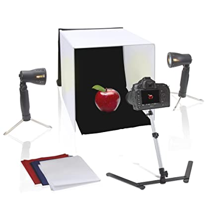 Amazon Com Pyle 24 X 24 Inch Portable Tabletop Photography Studio