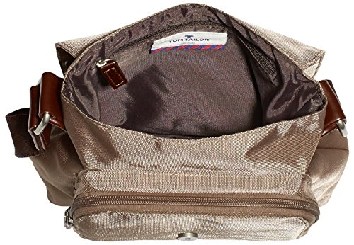 Tom Messenger B Grey 21 x Tailor Acc Women's Rina Bag22x20x10 11220 Taupe cm H x T aXar1qp