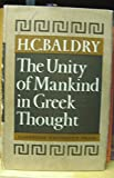 img - for The Unity of Mankind in Greek Thought book / textbook / text book