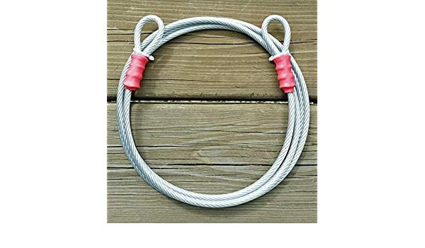 "10 ft 1//8/"" Anti Theft Security Cable Bike Lock Personal Belongings Coated 7x19"