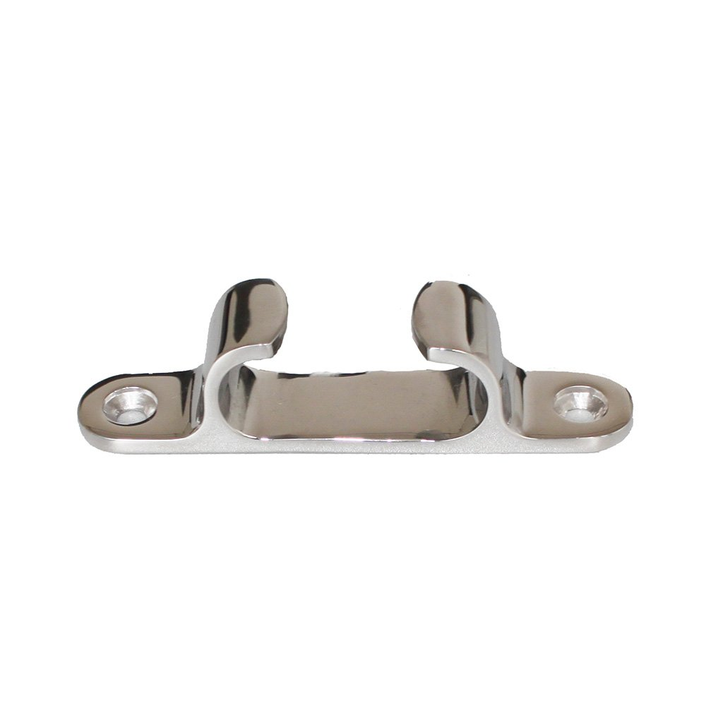 X-Haibei Marine Straight Bow Chock Cleat Line Chock Stainless Steel for Boat 4'' Length