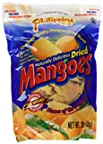 Philippine Brand Naturally Delicious Dried Mangoes Tree Ripened Value Bag 30 Ounces