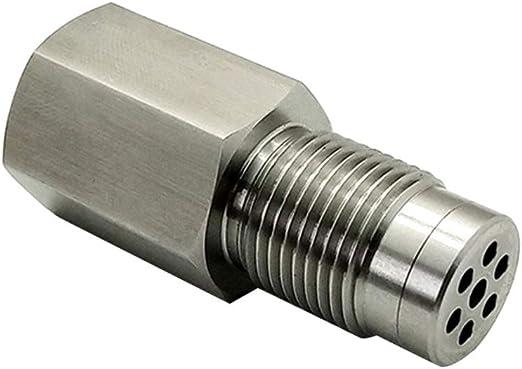 Free Size O2 Sensor Adapter Silber Auto Motor Licht Edelstahl Check Spacer Universal CEL Eliminator Mini Katalysator Auto Parts Tool