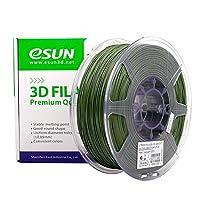 eSUN 1.75mm PLA PRO (PLA+) 3D Printer Filament 1KG Spool (2.2lbs), 19 Colors to Choose (Olive Green) from ESUN