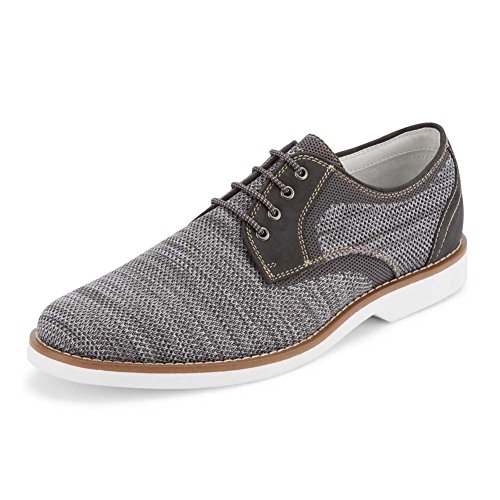 Gh Bass & Co. Heren Proctor Oxford Donkergrijs