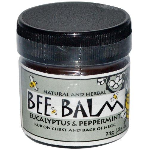 Black Hills Honey Farm, Bee Balm, Sinus Remedy, Eucalyptus and Peppermint, 0.85 oz (24 g)
