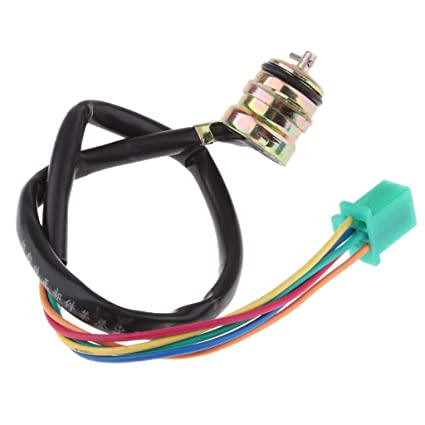 B Blesiya Sensor de Posición de Engranaje Palanca Accesorios para Moto CG125 GN125 GS125 - Multicolor