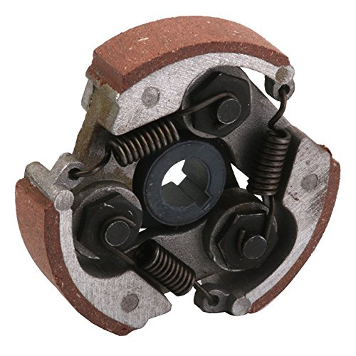 SODIAL coffee 1x 3 shoes centrifugal clutch plate 49cc mini pocket pit quad ATV Dirt ride R