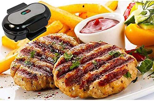 LXTIN Grille-Pain Sandwich, Sandwich Maker Four à Pain BBQ pour Le Petit déjeuner avec plaques faciles à Nettoyer, antiadhésives et poignées Cool Touch
