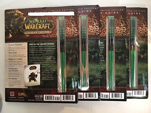 4 Pairs of Limited Edition World of Warcraft Mists of Pandaria Chopsticks