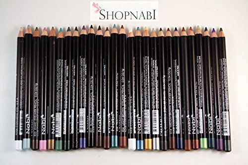 24pcs Nabi High Quality Eyebrow and Eyeliner Pencil Colored Eyeliner