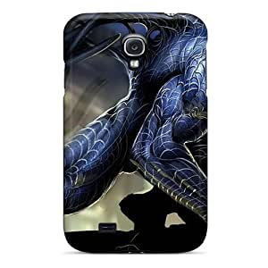 Tpu Shockproof/dirt-proof Venom Spiderman Marvel Comics Cover Case For Galaxy(s4)