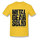 Men's Metal Gear Solid 5 V The Legacy Collection T Shirt Graphic Size XXL Yellow