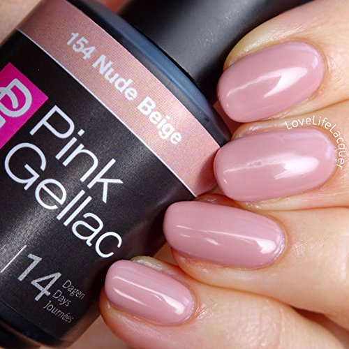 Pink Gellac #154 Nude Beige Soak-Off UV / LED Gel Polish