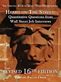 img - for Heard on The Street: Quantitative Questions from Wall Street Job Interviews book / textbook / text book