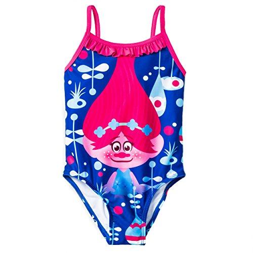 Trolls Girls Swimwear Swimsuit (Toddler/Little Kid)