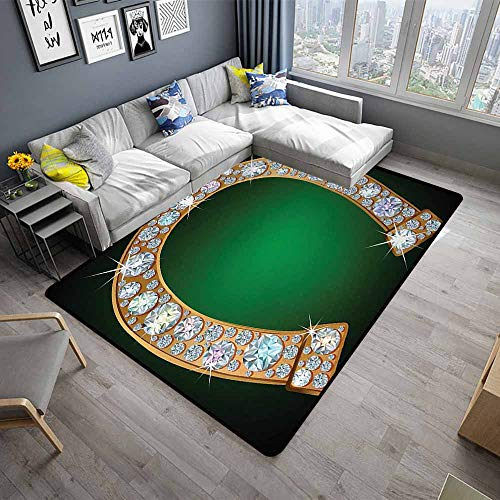 - Horseshoe,Front Mat Home Decorative Carpet 80