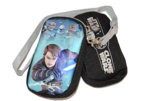 Handytasche / Geldbörse Star Wars Geldbeutel Portemonnaie Kinder Geld Handy Geldtasche Clone Wars