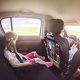 "Car BackSeat Organizer,10""Tablet Holder+9 Storage"