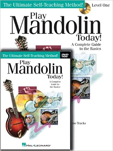 Amazon com: Play Mandolin Today! Beginner's Pack: Level 1 Book/CD