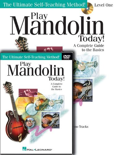 Play Mandolin Today! Beginner's Pack: Level 1 Book/CD/DVD Pack (Ultimate Self-Teaching Method!)