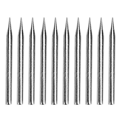 Whitelotous 10pcs Lead-free Solder Tip Replacement Soldering Iron Tip Welding Repair Tool(60W)