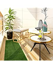 iCustomRug Thick Turf Rugs and Runners 6' X 20' Pet Friendly Artificial Grass Shag | Available in 48 Different Sizes with Binding Tape Finished Edges