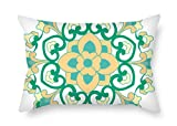 Slimmingpiggy 12 X 20 Inches / 30 By 50 Cm Bohemian Pillow Cases ,2 Sides Ornament And Gift To Couch,bar,chair,husband,boy Friend,home Office