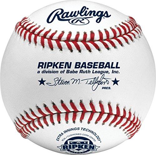 Rawlings Cal Ripken League Play Baseballs, (Box of 24), R14UCALSW2-24
