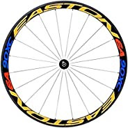 LIANGCHEN Bike Wheel Rims Reflective Stickers Multicolor Night Safety Bike Decals Tape Cycling Rim Stickers St