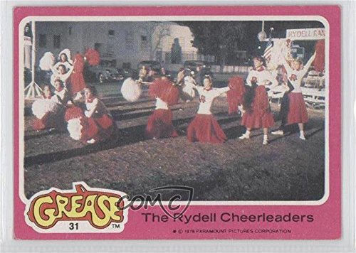 The Rydell Cheerleaders COMC REVIEWED Good to VG-EX (Trading Card) 1978 Topps Grease - [Base] #31 (Cheerleader Cards)