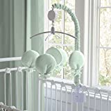 Carousel Designs Solid Icy Mint Mobile
