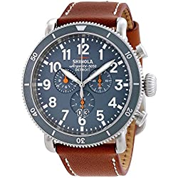 Shinola The Runwell Sport Chrono Slate Grey Dial Mens Watch 12001121