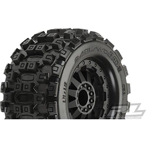 Pro-line Racing Badlands MX28 2.8 MNT F-11 Blk Whl(2): R EST, EST, PRO1012515