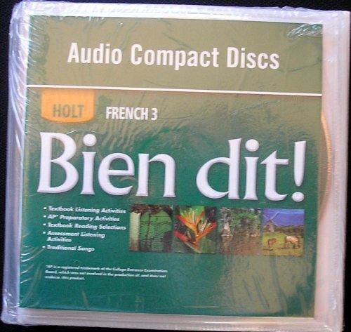Bien dit!: Audio CD Program Level 3