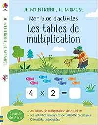 Tables De Multiplication Les Mon Bloc D Activites Rosamund