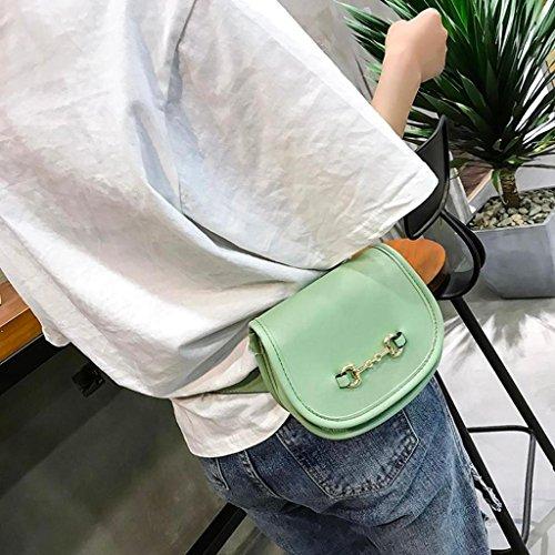 flip à extérieur sac Femme Trydoit à sac couvercle bandoulière femmes à Cuir mode cuir Sac pure Les BandoulièRe en de bandoulière Vert couleur w4Uv8qwR