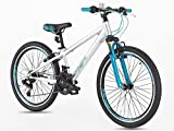 Junior Mountain Bike 24 Inches wheels Shimano Gear 21 speed- from age 9 Plus-