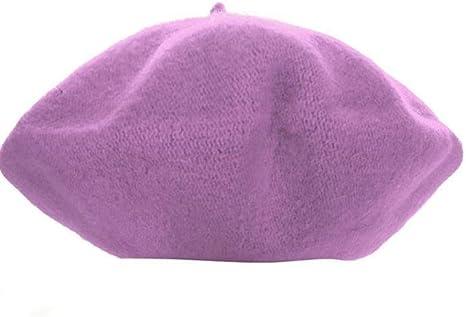 FJKL Sombreros Boinas para Mujer Gorras Invierno Niños Niñas Beret ...